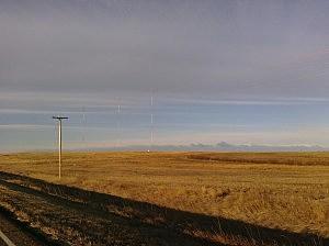 KSEN Radio Towers